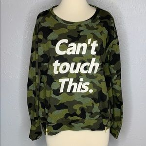 Can't Touch This Camo Sweater by H&M